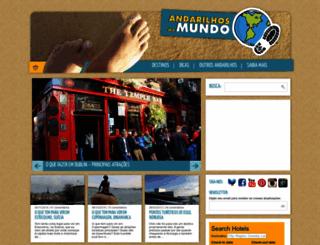 andarilhosdomundo.com.br screenshot