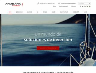 andbank.es screenshot