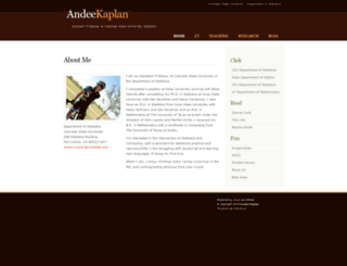 andeekaplan.com screenshot