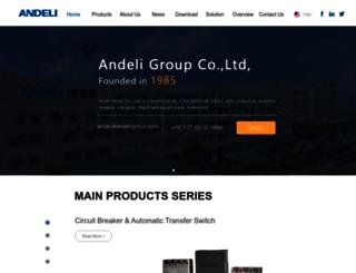 andeligroup.com screenshot