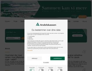 andelskassen.com screenshot