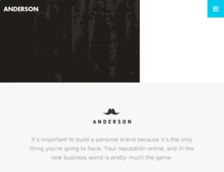 anderson.drupalet.com screenshot