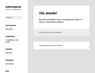 andersongarcia.com.br screenshot
