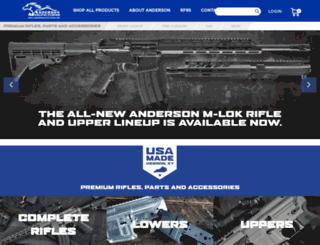 andersonrifles.com screenshot