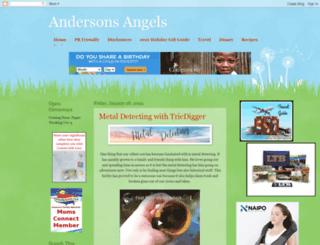 andersonsangels.com screenshot