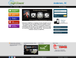 andersonsc.safetown.org screenshot