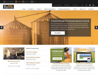 andersonsgrain.com screenshot