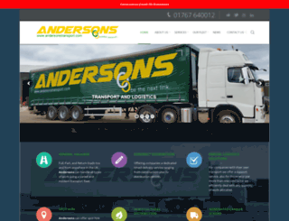andersonstransport.com screenshot