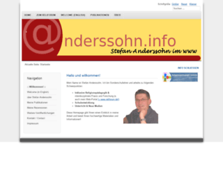 anderssohn.info screenshot