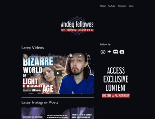andeyfellowes.wordpress.com screenshot