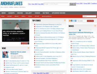 andhraflakes.com screenshot