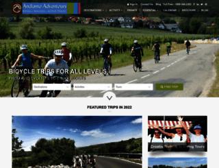andiamoadventours.com screenshot