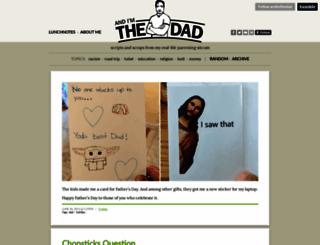 andimthedad.com screenshot