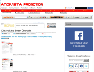 andivista.de screenshot