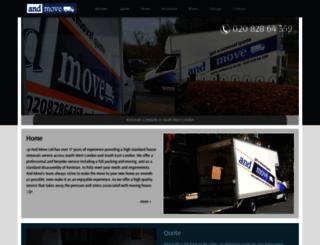 andmove.co.uk screenshot