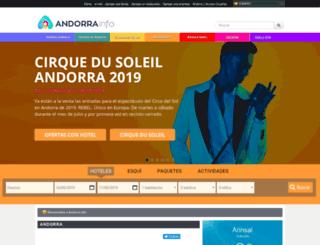 andorrainfo.com screenshot