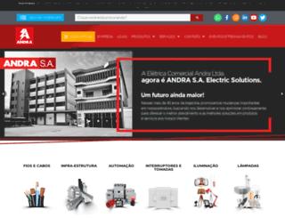 andra.com.br screenshot