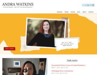 andrawatkins.com screenshot