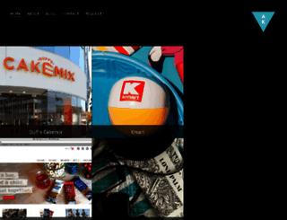andrea-keeble.com screenshot