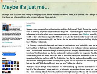 andrea-maybeitsjustme.blogspot.com screenshot