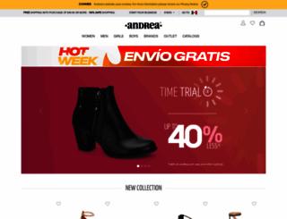 andrea.com screenshot