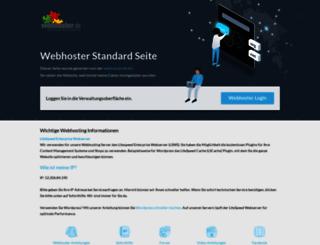 andrea.webhoster.ag screenshot