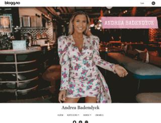 andreabadendyck.blogg.no screenshot