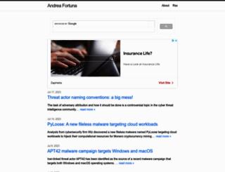 andreafortuna.org screenshot