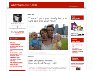 andreaharner.com screenshot