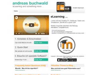 andreas-buchwald.de screenshot