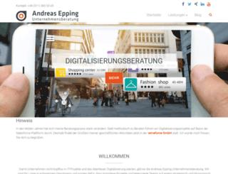 andreas-epping.com screenshot