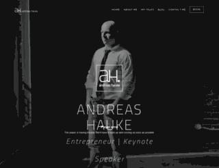 andreashauke.com screenshot