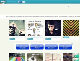 andreazink1.muzy.com screenshot