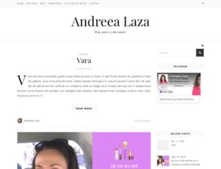 andreealaza.ro screenshot