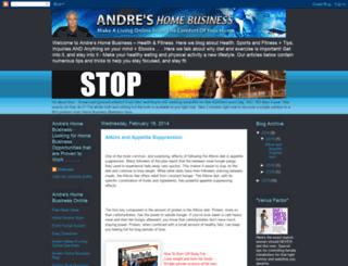 andreshomebusinesshealthandfitness.blogspot.co.nz screenshot
