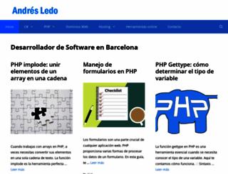 andresledo.com screenshot