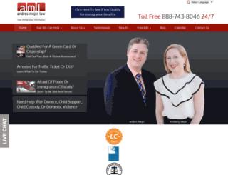 andresmejerlaw-dev.fosterwebmarketing.com screenshot