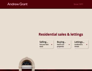 andrew-grant.co.uk screenshot