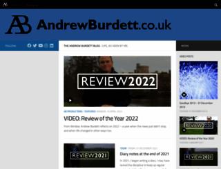 andrewburdett.co.uk screenshot