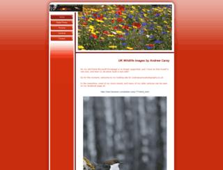 andrewcareyphotography.co.uk screenshot