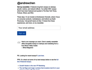 andrewchen.co screenshot