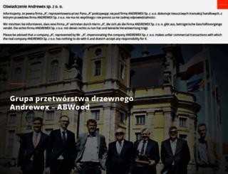 andrewex.com.pl screenshot