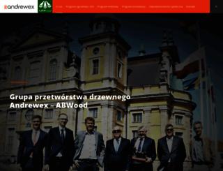 andrewex.pl screenshot