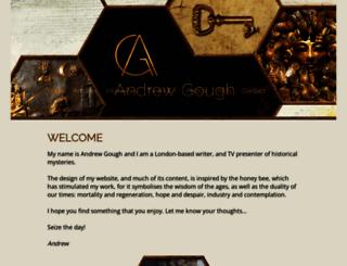 andrewgough.co.uk screenshot