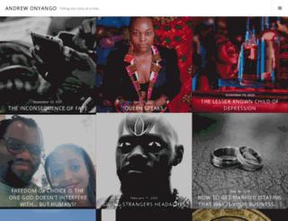 andrewonyango.wordpress.com screenshot