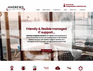 andrews-computers.com screenshot