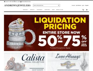 andrews-jewelers.com screenshot
