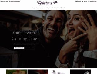 andrewsjewelers.com screenshot