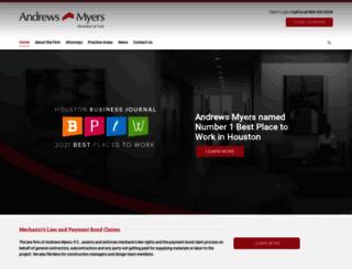 andrewsmyers.com screenshot