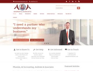 andrewstaxes.com screenshot